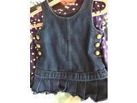 GAP 12-18 months denim dress