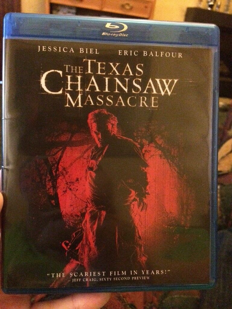 The Texas Chainsaw Massacre blu ray