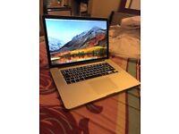 macbook pro retina 15 inch intel core i7, 1tb ssd storage 2.8 gh 16gb ram nvidia gt 750 m graphics