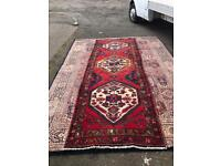 Large handmade woollen floor runner
