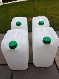 25 Litre Water Containers - New