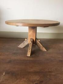 Rustic pine coffee table (delivery available)