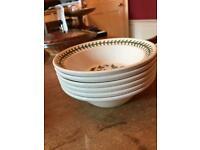 Port Meirion cereal bowls