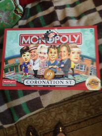 Monopoly board game coronation street