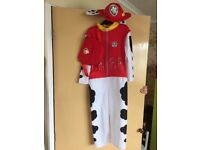 Paw patrol Marshall fancy dress outfit