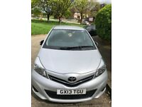 QUICK SALEE , TOYOTA YARIS 2013 ,FULL SERVICE HISTORY FROM TOYOTA,52000 MILES, FAMILY USED, CAT D.
