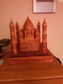 MODEL WOODEN TAJ MOHAL WITH MAINS
