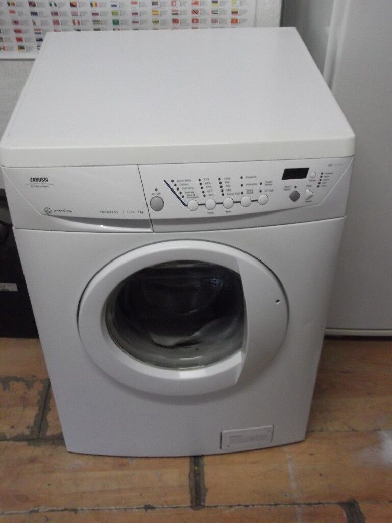 ZANUSSI USED WASHING MACHINE+FREE BH ONLY POSTCODES DELIVERY,INSTALL & GUARANTEE
