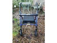 Mobility disability walker zimmer