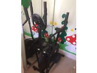 Exercise bike/cross trainer for sale