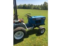 ford compact tractor, 4x4, kubota engine, grass tyres, everthing works as it should!