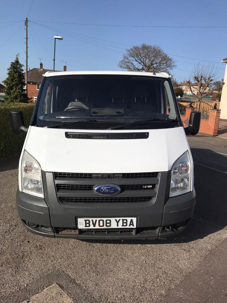 2012 Ford Transit Mk7 Complete Front End In Frozen White