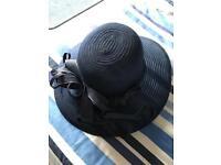 New navy summer hat