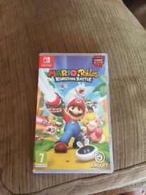 Nintendo Switch Mario and Rabbids Kingdom Battle Game