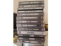 Ps1 console + 11 games