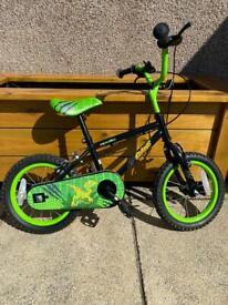 Apollo Claws 14 inch kids bike