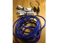 Job Lot: USB extension cables x5 (one is 3m)