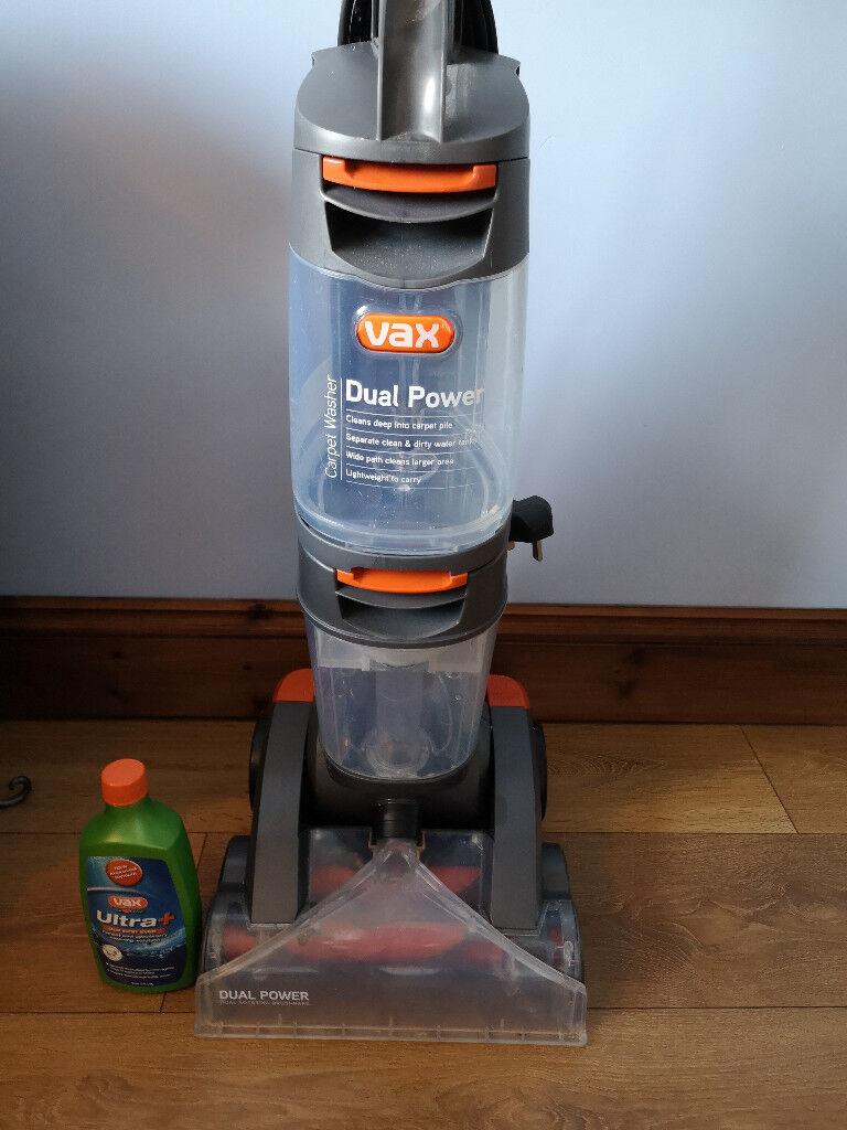 Grey 2.7 Litre 800 W Vax W86-DP-B Dual Power Carpet Cleaner