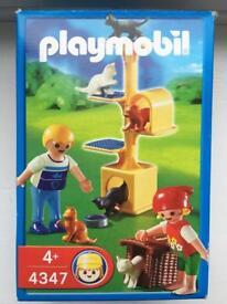 Playmobil 4347 cat scratch tree set