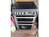 Hotpoint Gas Cooker 4 hobs