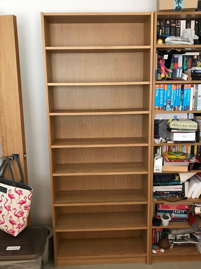 Ikea Billy Bookcase Oak Veneer In Edinburgh Gumtree