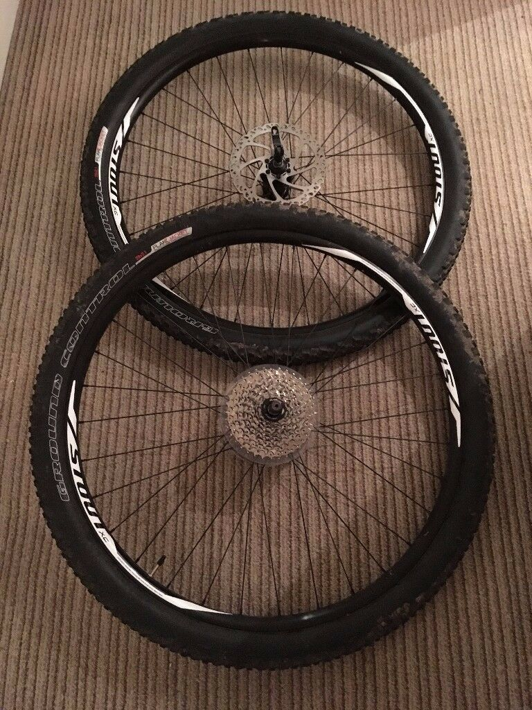 2x 29er 29 Inch Specialized Stout Mountain Bike Wheels Tyres