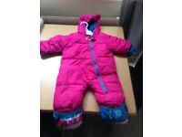 Snowsuit 6 - 9 months