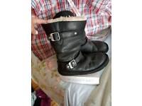 UGG Boots. Size 5 black