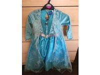 Elsa fancy dress costume