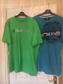 Men's Designer T-Shirts x 2