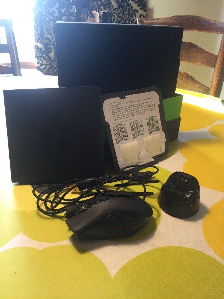 Razer Naga Epic Chroma, gaming mouse, 8200DPI