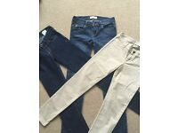 Girls Abercrombie & Fitch, Hollister and Ralph Lauren Jeans.