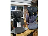 Childs Car Seats - 2 x Britax
