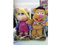 Two muppets toys in box brand new
