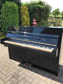 Yamaha M5J Upright Piano| Black Case |Belfast Pianos |