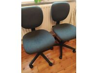 Pair of office / desk chairs.