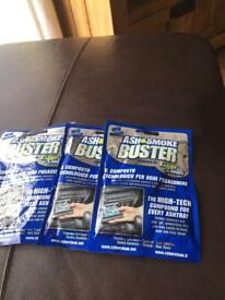 Ash and smoke buster 3 packets