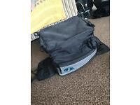 Motorbike Oxford No1 Tail Pack with Rain Cover !!!
