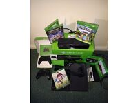 Xbox One Bundle: Kinect Special Edition 500GB Black + extras. RRP=£408