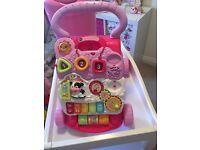Vtec Pink baby walker