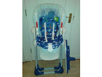 Chicco Polly 2 in 1 High Chair (Suitable for up to 3 years as converts into a chair with harness)