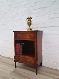 Regency Style Bedside Cabinet (DELIVERY AVAILABLE)