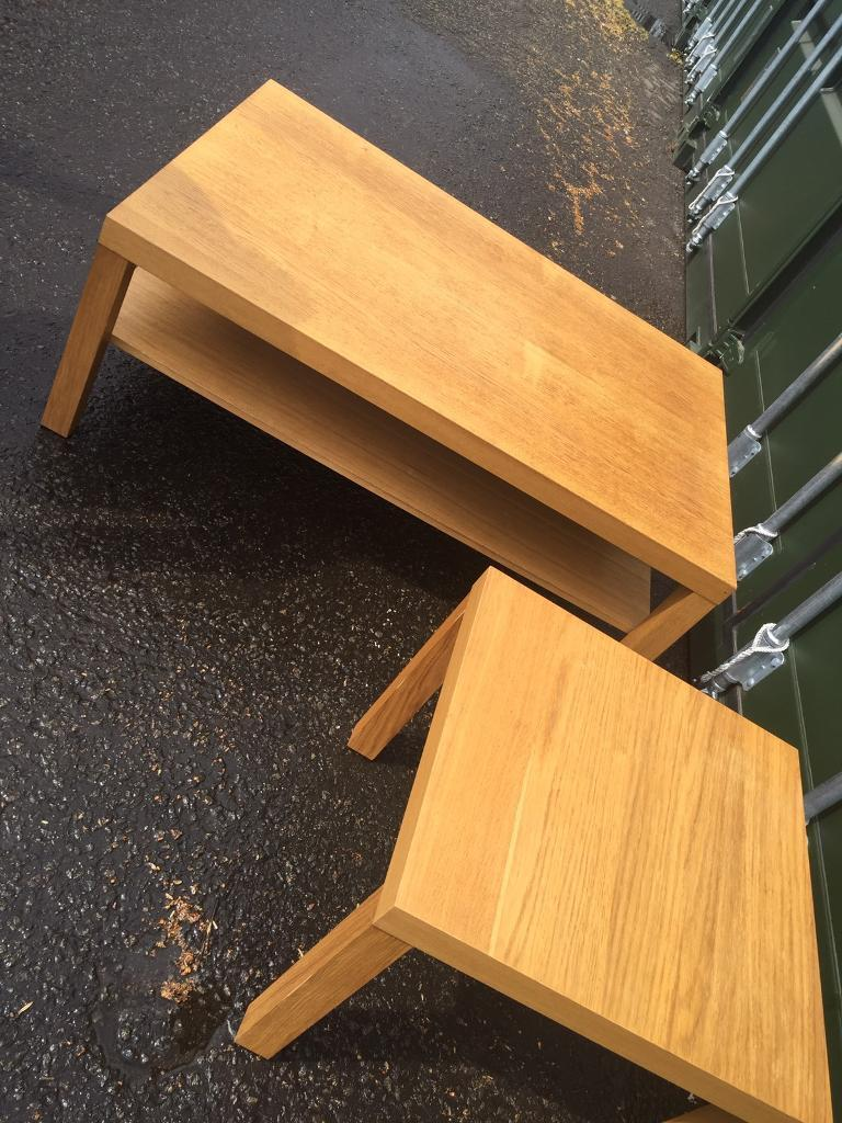 Coffee table and side tablein Chapelhall, North LanarkshireGumtree - Coffee table side table. Really good condition, selling as upgraded. Can also deliver from £10 thanks