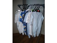 Size 0-1 Baby boy bundle clothes can deliver if not too far