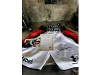 Signed Anthony joshua shorts