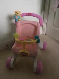 My first pushchair walker