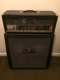 Guitar amp - Engl Fireball head with 4x4 Engl cab