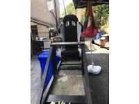 Game chair top of range