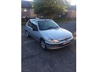 Peugeot 106 Cheap car long mot