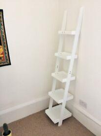 Small ladder shelf (white)